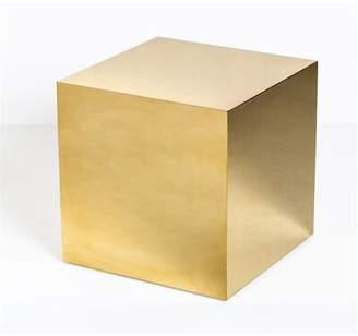Interlude Aubrey Cube End Table