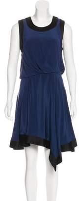 Elizabeth and James Silk Sleeveless Midi Dress