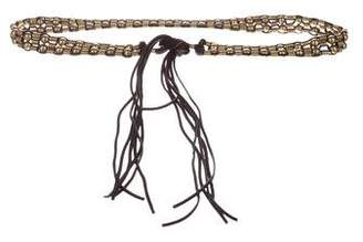 Auden Beaded Leather Belt