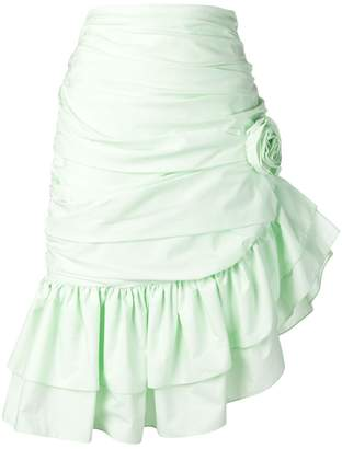 VIVETTA asymmetric ruffle skirt