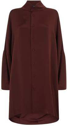 eskandar Oversized Silk Shirt