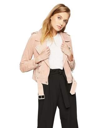 Blank NYC [BLANKNYC] Women's Suede Moto Jacket Outerwear