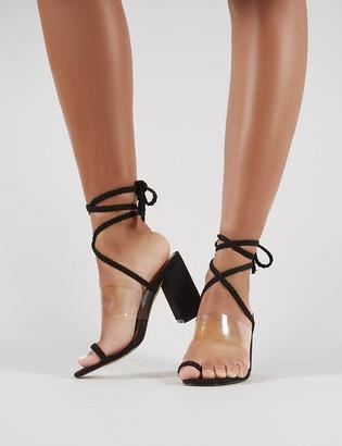 7b0b8d7f6ff Public Desire Block Heel Sandals For Women - ShopStyle UK
