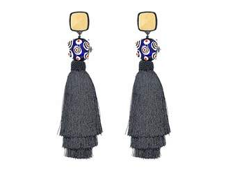 Tory Burch Silk Tassel Earrings Earring