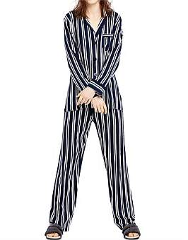 Project REM Resort Stripe Long Sleeve Pyjama Set