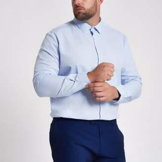 River Island Big and Tall light blue shirt