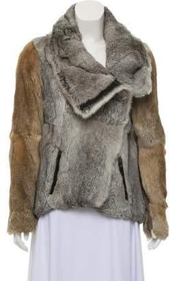 Helmut Lang Fur Knit Jacket
