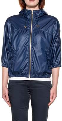 Fay Blue Hooded Jacket