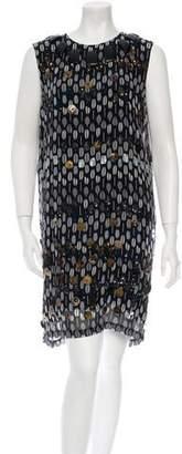Michel Klein Cher Silk Dress w/ Tags