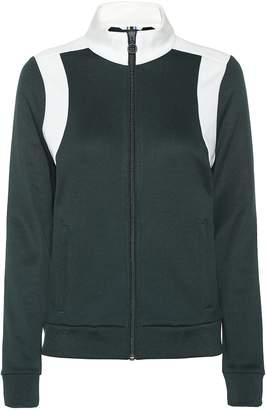 Tory Sport Cotton-blend jersey track jacket
