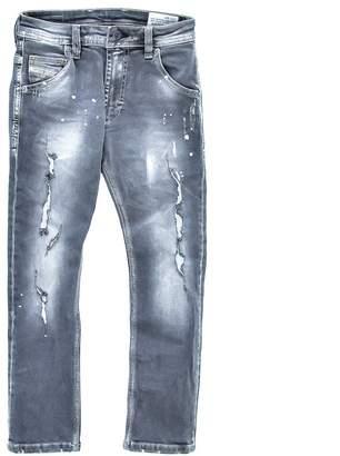 Diesel Boys' Destroyed Denim Pants Krooley, Sizes 6-16
