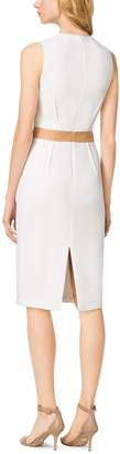 Michael Kors Boucle-Crepe Sheath Dress