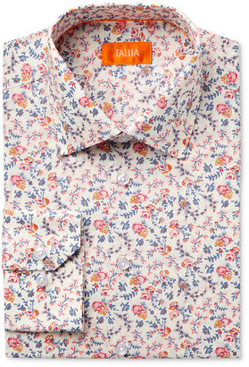 Tallia Men's Fitted Multi-Color Floral Printed Ground Dress Shirt $79.50 thestylecure.com