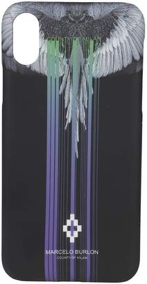 Marcelo Burlon County of Milan Striped Iphone Cover