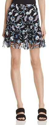 Sandro Jade Embroidered Skirt - 100% Exclusive $395 thestylecure.com