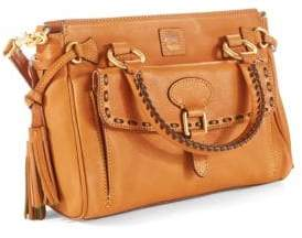 Dooney & Bourke Florentine Medium Pocket Satchel $318 thestylecure.com