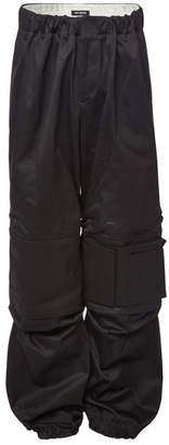 Raf Simons Wide Leg Space Cargo Pants