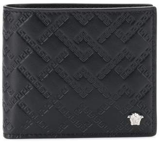 Versace quilted wallet
