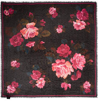 Alexander McQueen Printed Modal And Silk-blend Scarf - Pink
