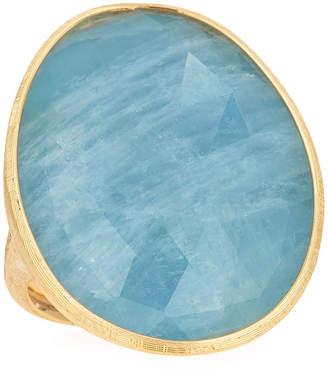 Marco Bicego 18k Large Aquamarine Ring