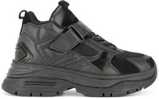 Juun.J chunky heel lace-up sneakers