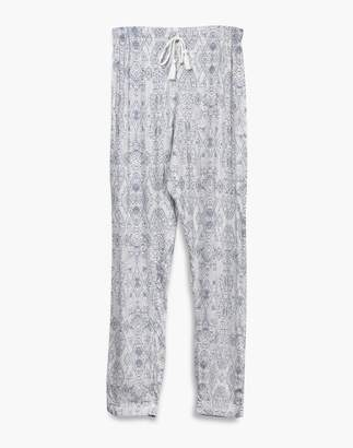 Madewell Negative Supreme Sleep Pants Pajama Set