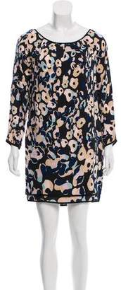 Diane von Furstenberg Egg Zactly Silk Dress w/ Tags