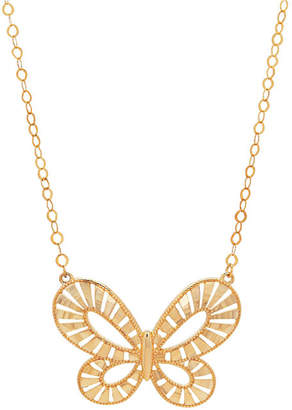 FINE JEWELRY Limited Quantities! Womens 18 Inch 10K Gold Link Necklace
