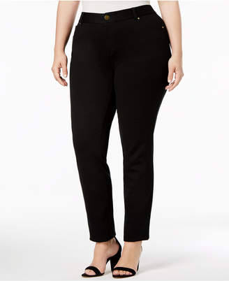 INC International Concepts I.n.c. Plus Size Skinny Ponte Pants, Created for Macy's