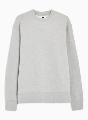 Topman Mens Grey Sweatshirt
