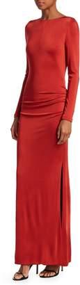 Galvan Corona Long Sheath Dress