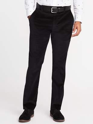 Old Navy Straight Signature Built-In Flex Velvet Pants for Men
