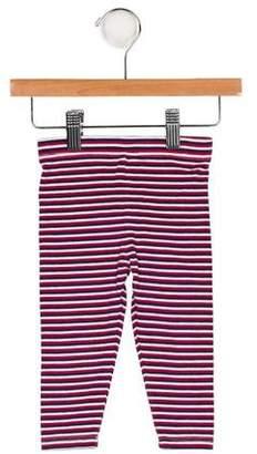 Vince Girls' Knit Striped Leggings