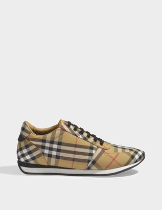 Burberry Amelia check running sneakers