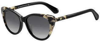 Kate Spade Sherylyn Two-Tone Cat-Eye Sunglasses