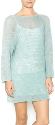DC KNITS Aqua Sweater Dress