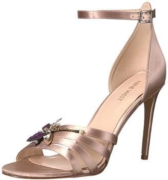Nine West Women's Jacinth Satin Heeled Sandal