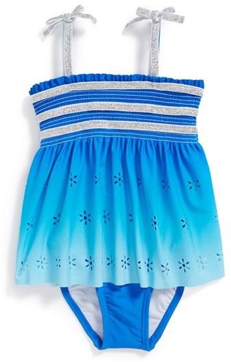 Hula Star 'Summer Breeze' One-Piece Swimsuit (Toddler Girls)