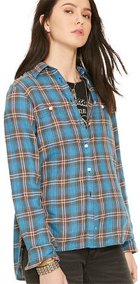 Ralph Lauren Denim & Supply Plaid Utility Shirt $79.50 thestylecure.com