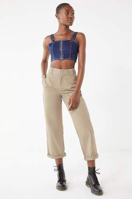 Dickies Cuffed Cropped Work Pant