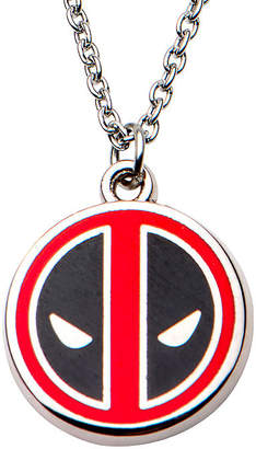 FINE JEWELRY Womens Sterling Silver Marvel Pendant Necklace