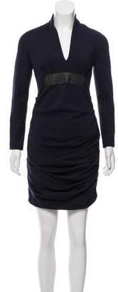 Yigal Azrouel Knee-Length Wool Dress