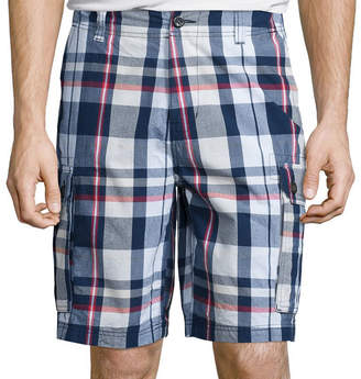 ST. JOHN'S BAY Madras Cargo Shorts