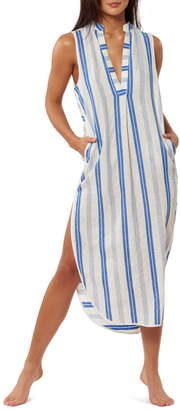 Red Carter Avi Maxi Cover-Up Dress