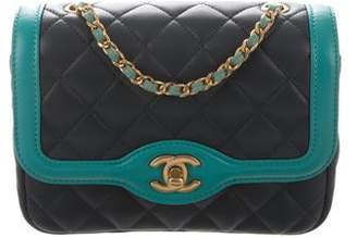 ef707fd50f89 Chanel 2017 Mini Two-Tone Flap Bag