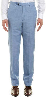 Brooks Brothers Regent Fit Wool & Linen-Blend Trouser