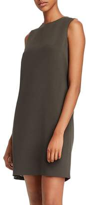 Theory Column Sleeveless Shift Dress