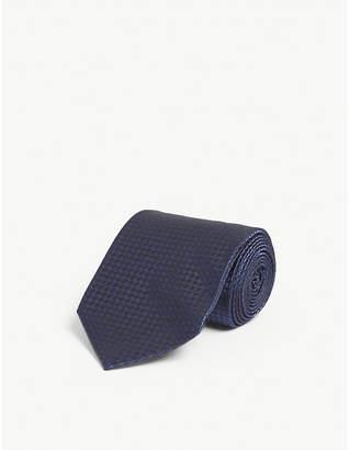 Tom Ford Spot print silk-blend tie