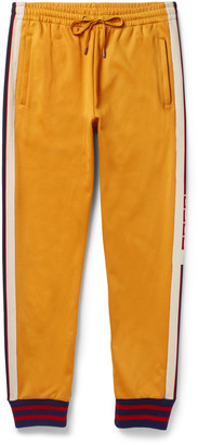 Gucci Striped Jersey Sweatpants $920 thestylecure.com