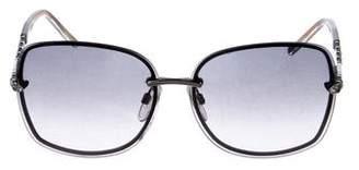 Missoni Embellished Square Sunglasses
